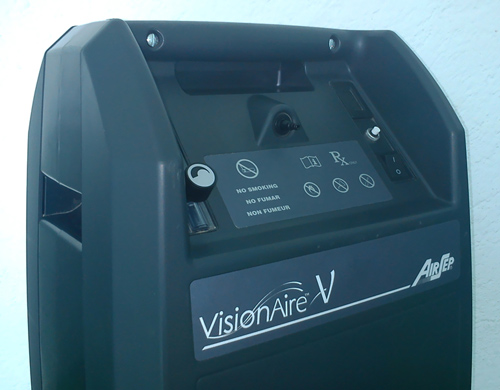 visionaire oxygen machine