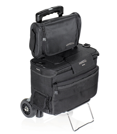 EverFlo Oxygen Concentrator CRC Cart