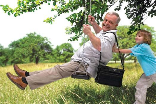 Swinging EverFlo Portable Oxygen Concentrator CRC